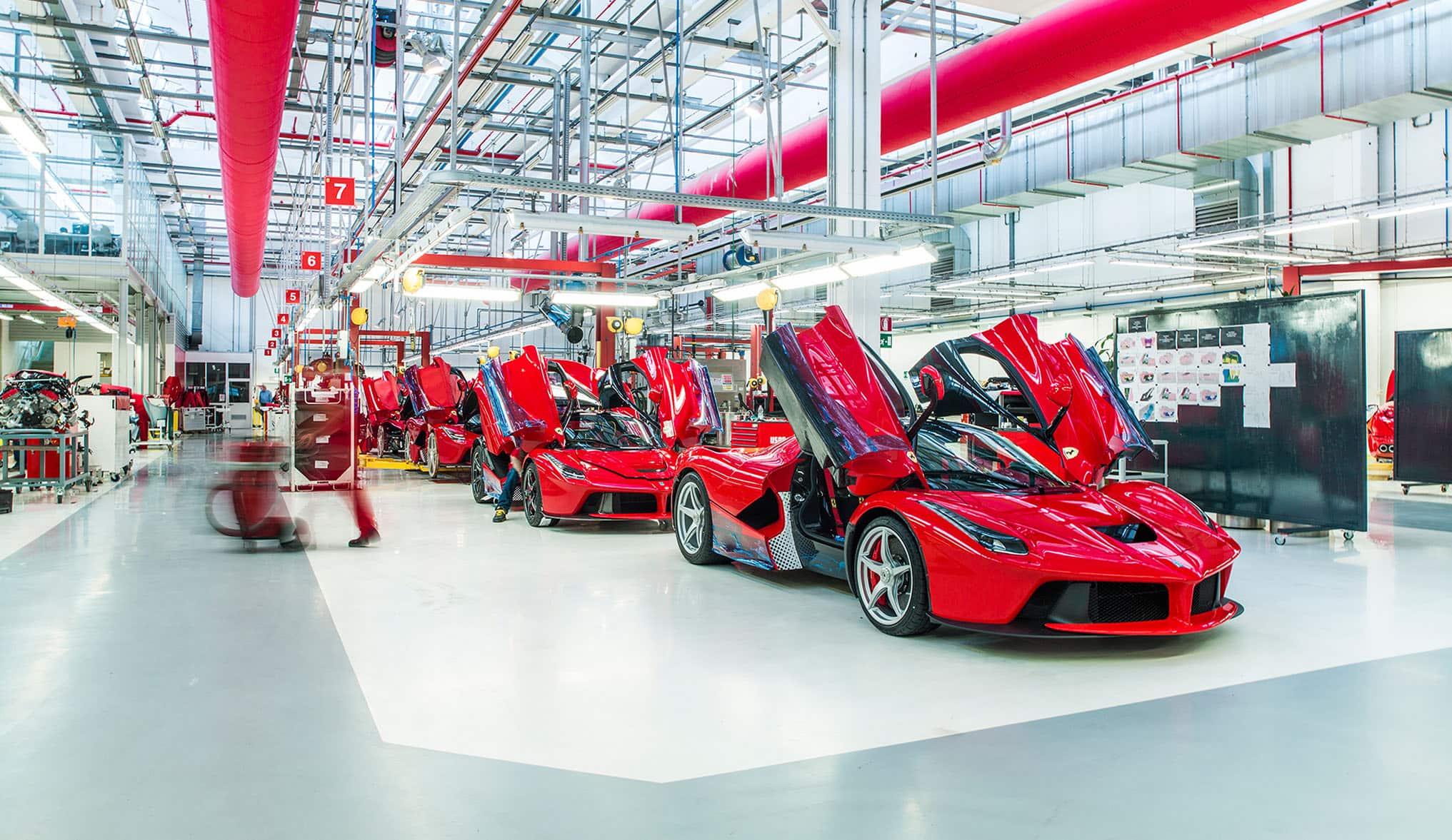 A unique Ferrari day