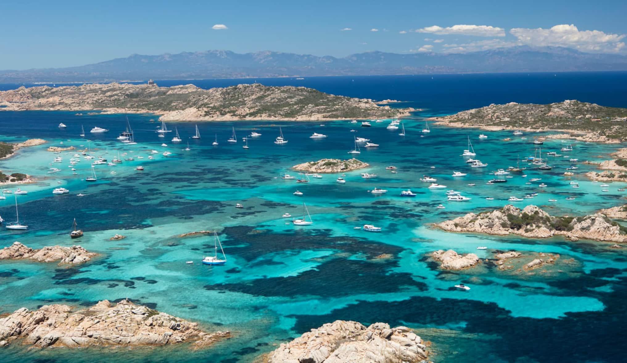 Sardinia: Costa Smerald a Scenic Flight – La Casitta lunch stop