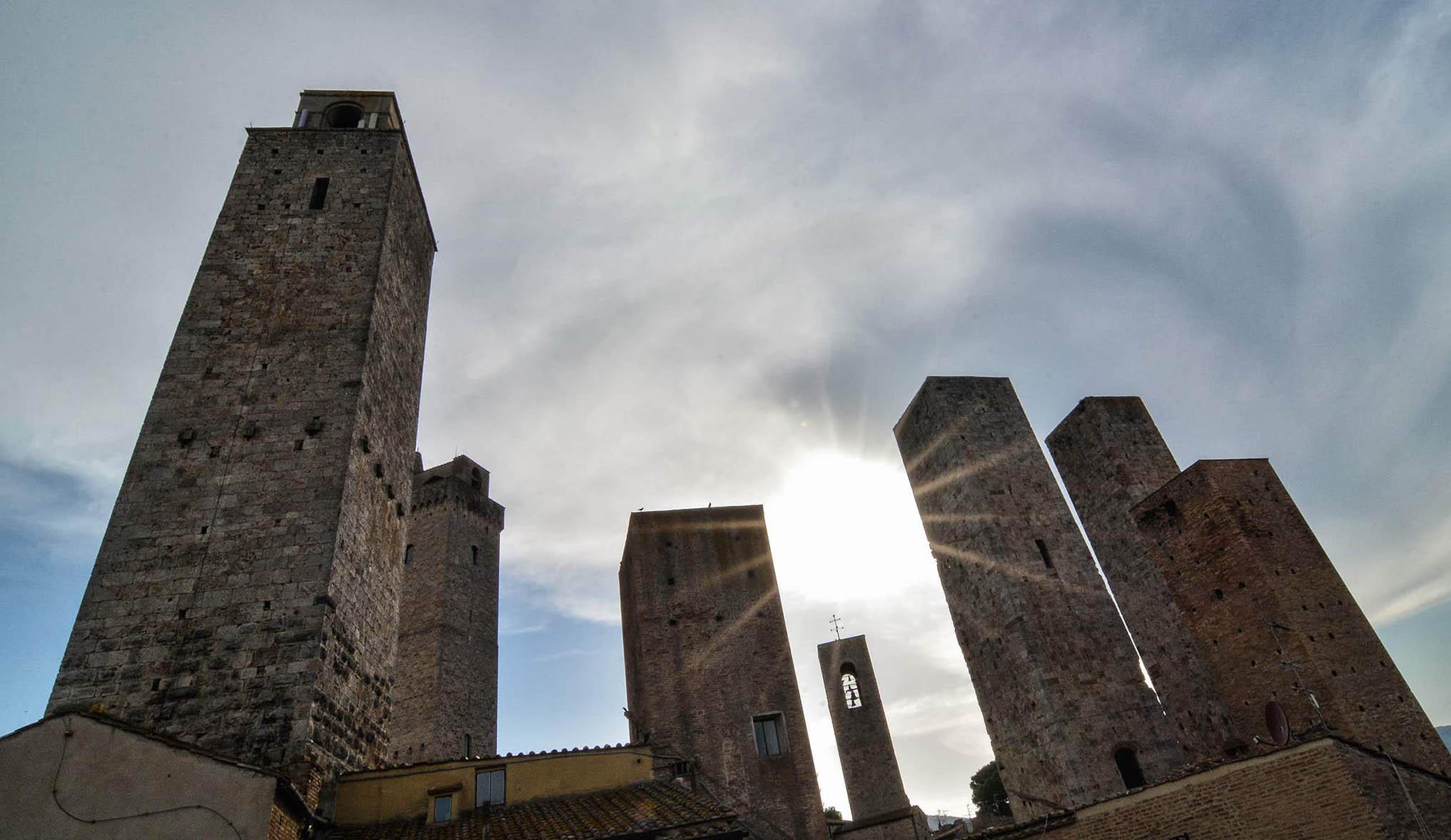 Migliori vini della Toscana e paesaggi incredibili: Cantina Torciano e San Gimignano